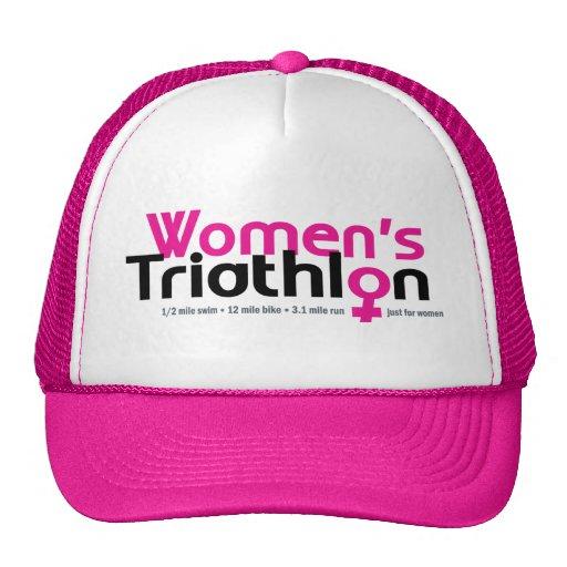 Women's Triathlon Mesh Hats