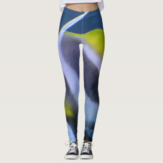 Womens Tropical Fish Custom Leggings