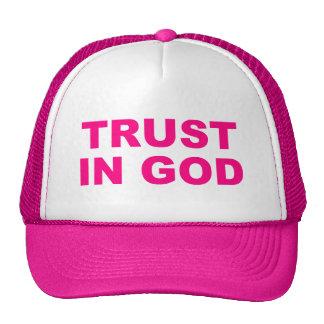 Womens Trust In God Hat