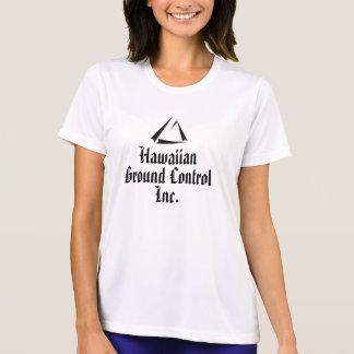 Womens tshirt With Hawaiian Ground Control Logo