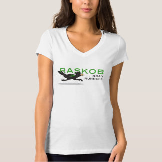 Women's V Neck Raskob Spirit Shirt