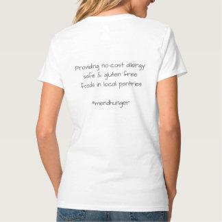 Women's V-Neck (w/writing on back) T-Shirt