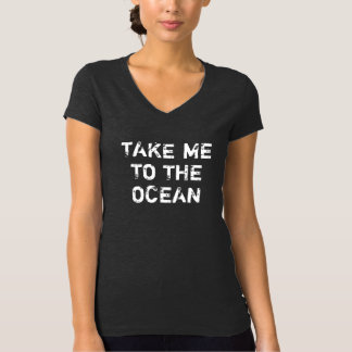 Women's Vintage Take Me To The Ocean T-Shirt