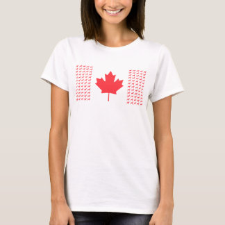 Women's Vizsla Canadian Flag T-Shirt