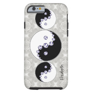 women's volleyball any color yin and yang tough iPhone 6 case