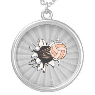 womens volleyball ripping through jewelry