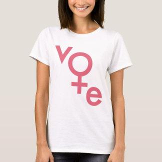 Womens Vote Gender Symbol T-Shirt