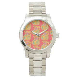 Women's watch with pitcher motif