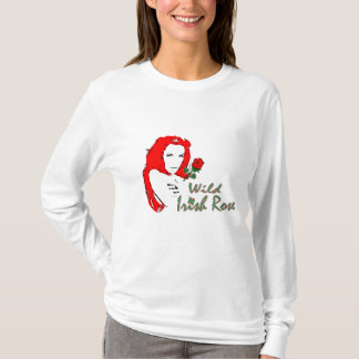 Womens Wild Irish Rose T-Shirt