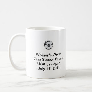 Women's World Cup Soccer Finals Coffee Cup Basic White Mug