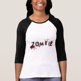 Women's Zombie Print Top Shirts