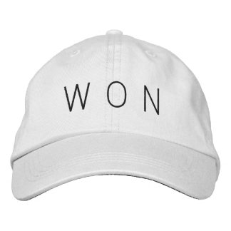 WON Hat Baseball Cap