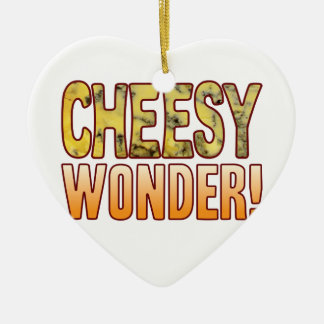 Wonder Blue Cheesy Ceramic Heart Decoration
