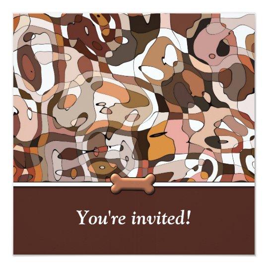 Wonder Dog Birthday Celebration Invitation