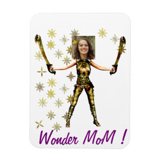 Wonder Fairy Princess, Swords - Insert YOUR Photo- Rectangular Photo Magnet