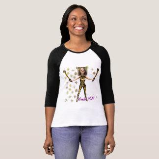 Wonder Fairy Princess, Swords - Insert YOUR Photo- T-Shirt