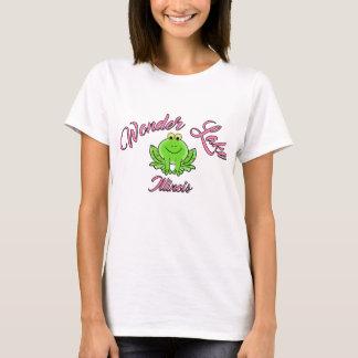 Wonder Frog Pink Women's Basic T-Shirt