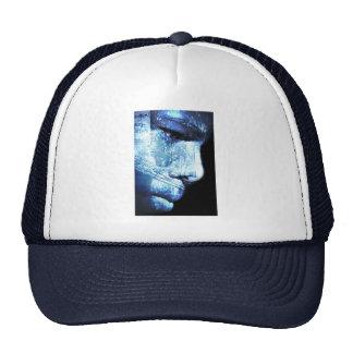 wonder in blue hats
