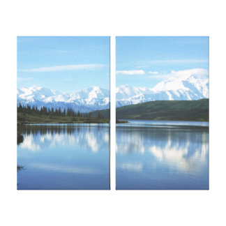 Wonder Lake - Denali National Park Canvas Print