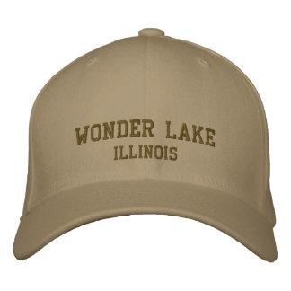 Wonder Lake Illinois Pro Custom Baseball Cap