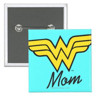 Wonder Mom Classic 15 Cm Square Badge