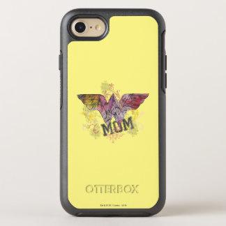 Wonder Mom Mixed Media OtterBox Symmetry iPhone 7 Case