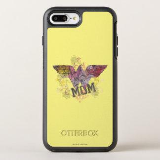 Wonder Mom Mixed Media OtterBox Symmetry iPhone 8 Plus/7 Plus Case