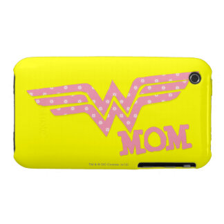 Wonder Mom Pink iPhone 3 Cases