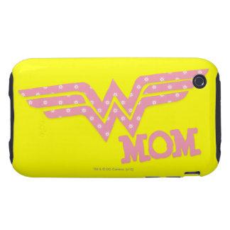 Wonder Mom Pink iPhone 3 Tough Case