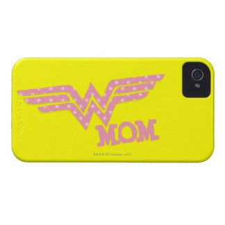 Wonder Mom Pink iPhone 4 Covers