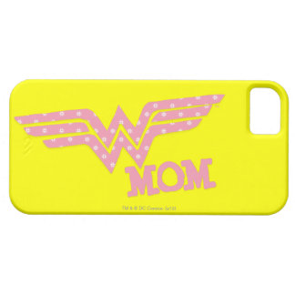 Wonder Mom Pink iPhone 5 Cover