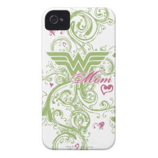 Wonder Mom Swirls iPhone 4 Case-Mate Case