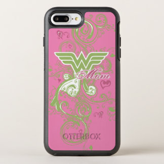 Wonder Mom Swirls OtterBox Symmetry iPhone 7 Plus Case
