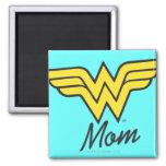 Wonder Mum Classic Square Magnet