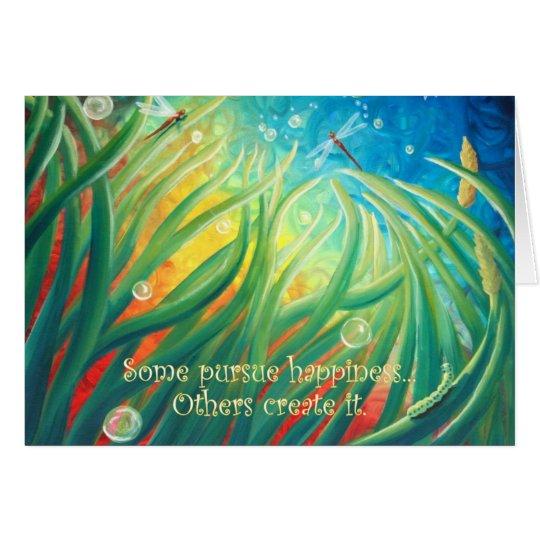 Wonder of it All Blank Art Card Original Art