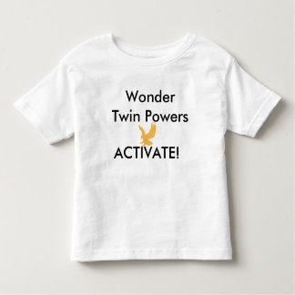 Wonder Twins Powers Eagle Toddler T-Shirt