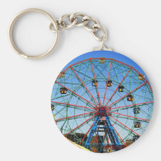Wonder Wheel - Coney Island, NYC keychain