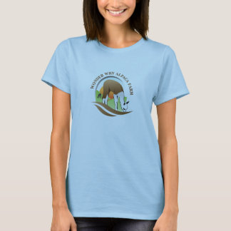 Wonder Why Alpaca Farm Logo Shirt