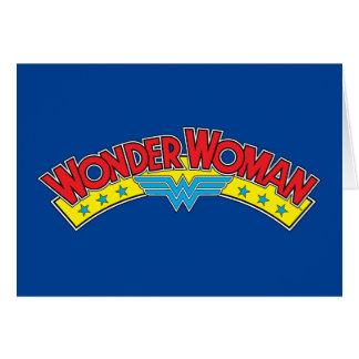 Wonder Woman 1987 Comic Book Logo Card