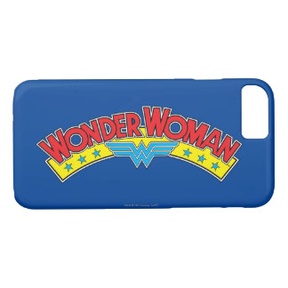 Wonder Woman 1987 Comic Book Logo iPhone 8/7 Case