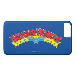 Wonder Woman 1987 Comic Book Logo iPhone 8 Plus/7 Plus Case