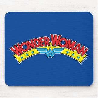 Wonder Woman 1987 Comic Book Logo Mouse Mat