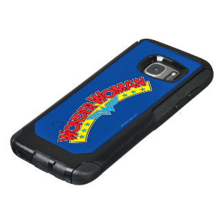 Wonder Woman 1987 Comic Book Logo OtterBox Samsung Galaxy S7 Case
