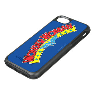 Wonder Woman 1987 Comic Book Logo OtterBox Symmetry iPhone 8/7 Case