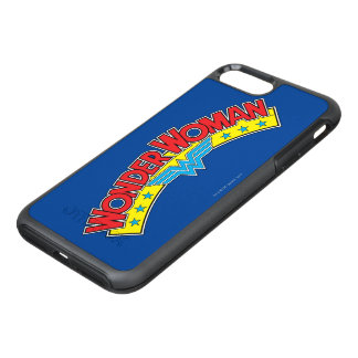 Wonder Woman 1987 Comic Book Logo OtterBox Symmetry iPhone 8 Plus/7 Plus Case