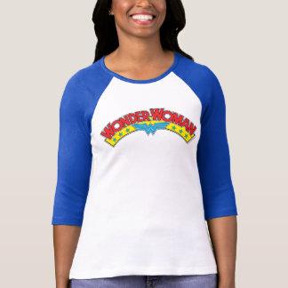 Wonder Woman 1987 Comic Book Logo T-Shirt