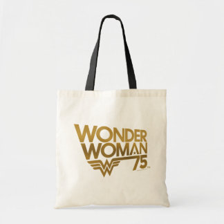 Wonder Woman 75th Anniversary Gold Logo