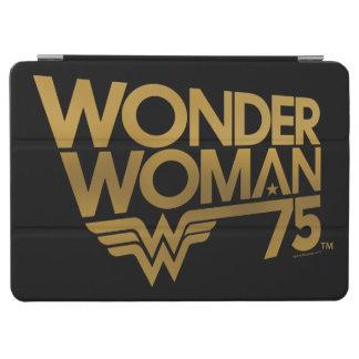 Wonder Woman 75th Anniversary Gold Logo iPad Air Cover