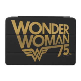 Wonder Woman 75th Anniversary Gold Logo iPad Mini Cover