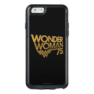 Wonder Woman 75th Anniversary Gold Logo OtterBox iPhone 6/6s Case